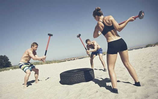 How to Develop Power with Sledgehammer Workouts