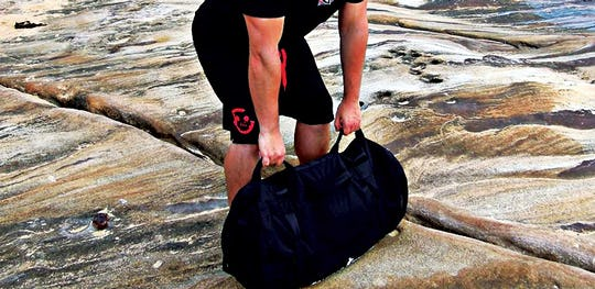 Sandbag Workouts are ideal for strength building.