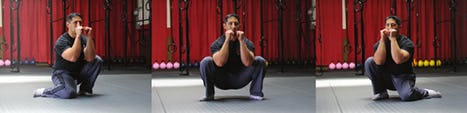 Cossack Squat for Hip Mobility