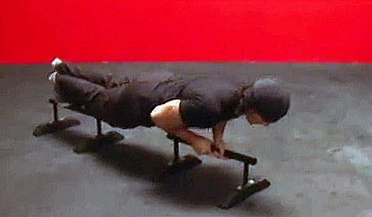 Advanced Bodyweight Workout with Rails