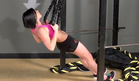 How to do the Battle Ring Body Row Exercise