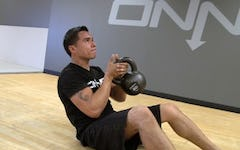 Floor to Feet Kettlebell Workout Circuit