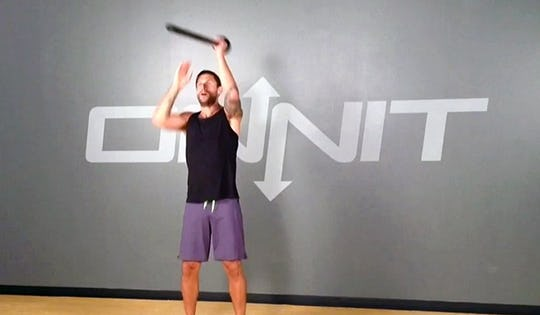 ARM YOURSELF BARBARIAN Steel Mace WORKOUT