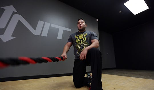 Battle Rope Warrior Fury Workout