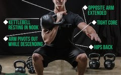 Form at a Glance: Kettlebell Front Squat