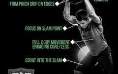 Form at a Glance: Steel Bell Slam Exercise