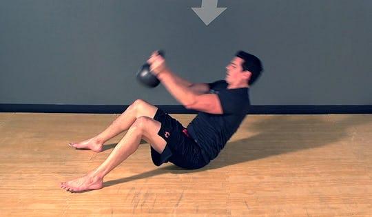 Kettlebell Up & Over Exercise