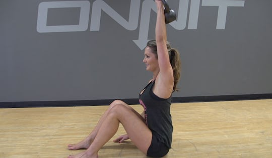 Kettlebell Core Strength Workout