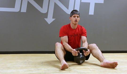 Power and Endurance Kettlebell Ladder Workout