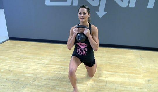 Lower Body Beginner Kettlebell Workout