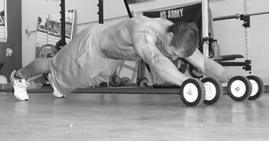 Stoetzel Caveman Workout AMRAP