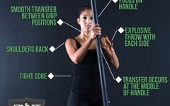 Form at a Glance: Steel Mace Ballistic Row