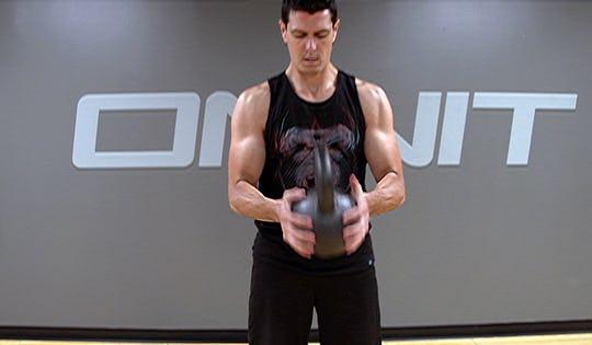 Kettlebell Workout: Kettlebell Crush Grip Strength Workout