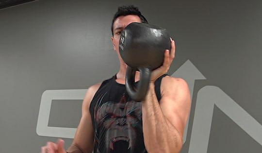 Kettlebell Workout: Kettlebell Cathcing Endurance Workout