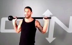 Legs on Fire Steel Mace Workout