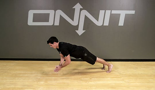 Bodyweight Exercise: Clap Push Up