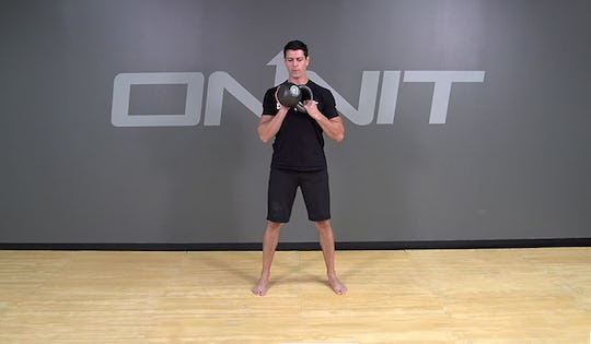 Kettlebell Figure 8 to Hold