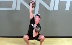 How to do the Kettlebell Squat Anyhow Exercise
