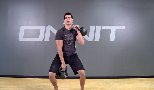 Intense DBL Kettlebell Workout