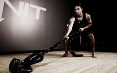 Pull Your Weight Battle Rings Workout