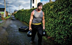 Travis Janeway shows you how you can recoverr faster with sleds on your off days