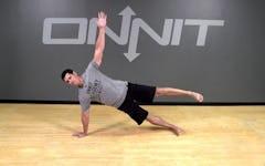 Bodyweight Exercise: Gladiator Hold