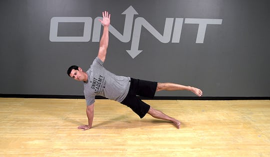 Bodyweight Exercise: Gladiator Hold