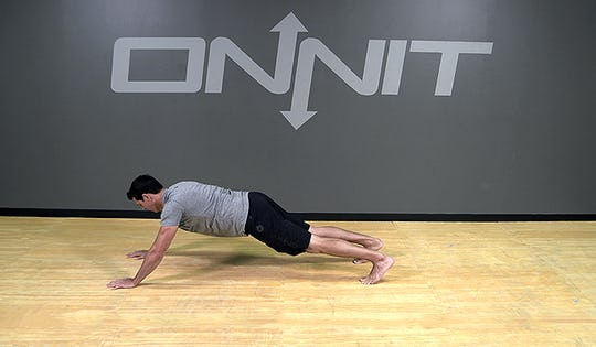 Bodyweight Exercise: Hop Out