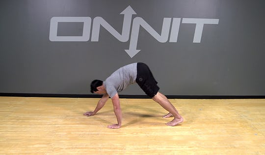 Bodyweight Exercise: Hand Walkout to Push Up
