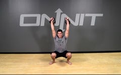 Kettlebell Exercise: Double Sots Press
