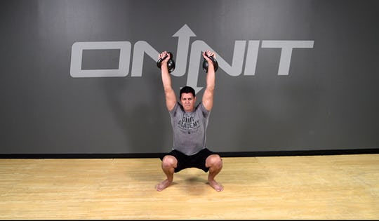 Kettlebell Exercise: Double Sots Press