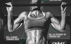 Stephanie Mcdonald demonstrates the pull up