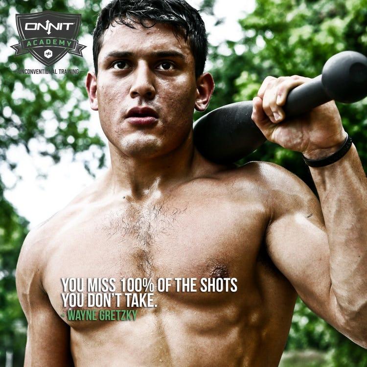 Workout Motivation: 100%