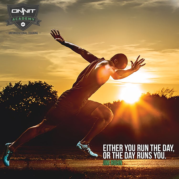 Workout Motivation: Run The Day