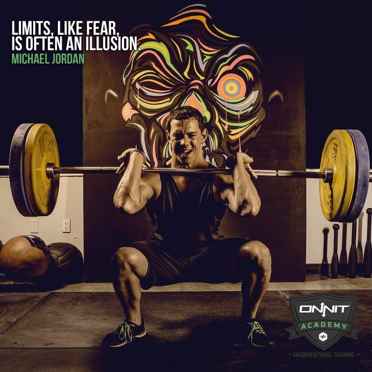 Limits, like fear, is often an illusion. Michael Jordan