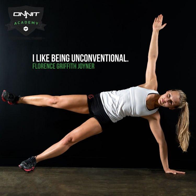 I like being unconventional. - Florence Griffith Joyner
