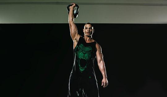 Badass Kettlebell Strength Workout