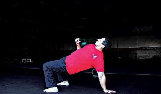 2 Kettlebell Strength Moves You've Never Tried Before