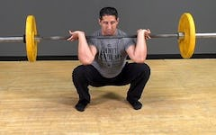 Barbell Exercise: Front Squat