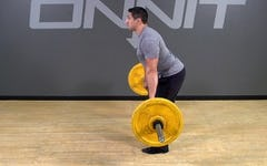 Barbell Exercise: Hang Clean