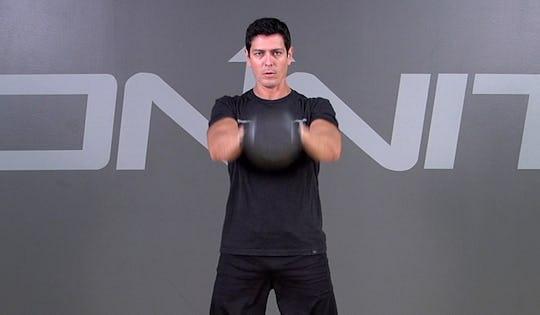 Kettlebell Exercise: 2-Hand Swing