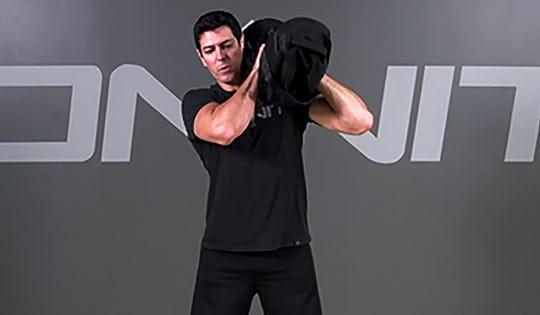 Sandbag Exercise: Alternating Shouldering