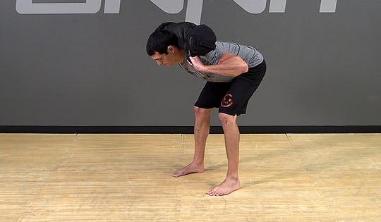 Sandbag Exercise: Back Hold Good Morning