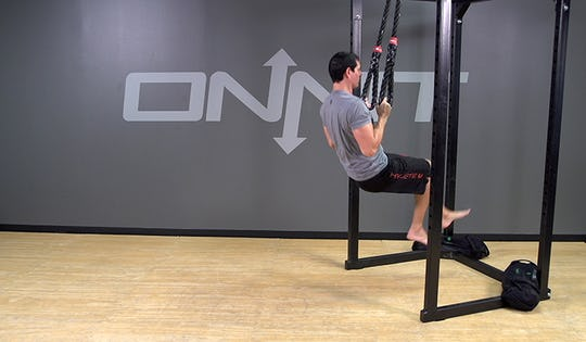 Suspension Exercise: 1-Leg Pull Up