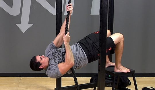 Suspension Exercise: Plank Rope Climb