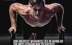 """""""Our greatest weakness lies in giving up. The most certain way to succeed is always to try just one more time."""" - Thomas A. Edison"""