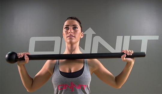 Intense Steel Mace Conditioning Workout