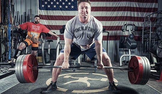 Onnit's Casey Williams Practicing the Deadlift