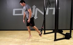 Suspension Exercise: 1-Leg Burpee