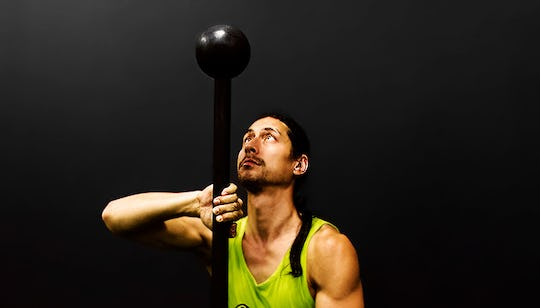 Steel Mace Viking Power Workout